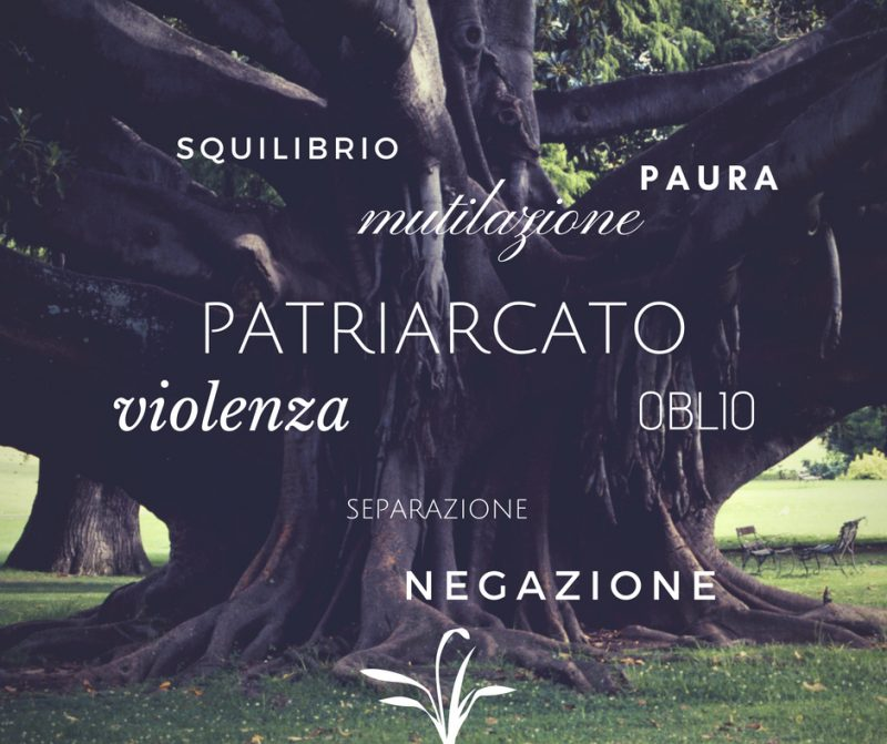 patriarcato e conseguenze