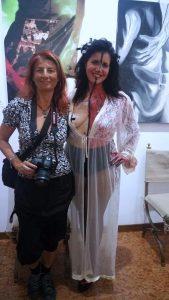 Alice Meraviglie e il body painting