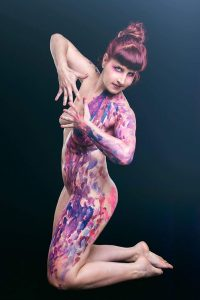 Body Painting Live Monica Argentino
