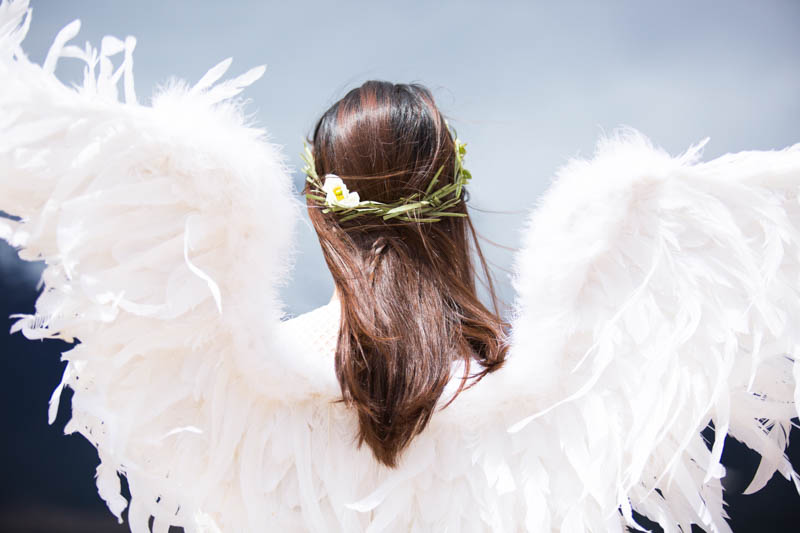 l'angelo e la paura