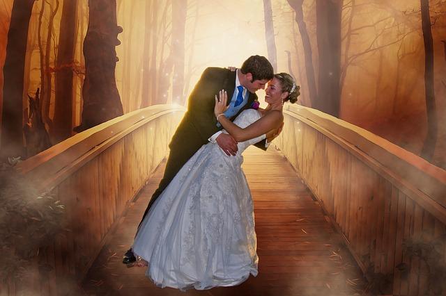 matrimonio celtico nel bosco