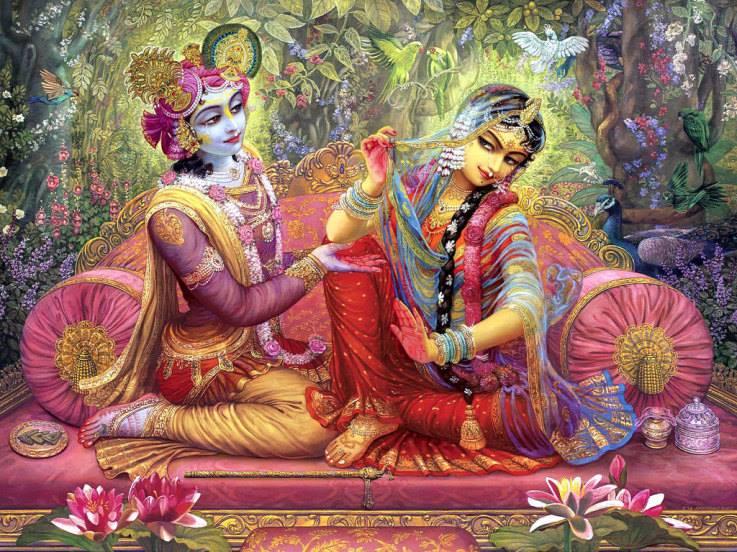 l'amore Radha