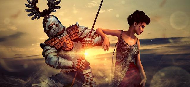 cavaliere e dama