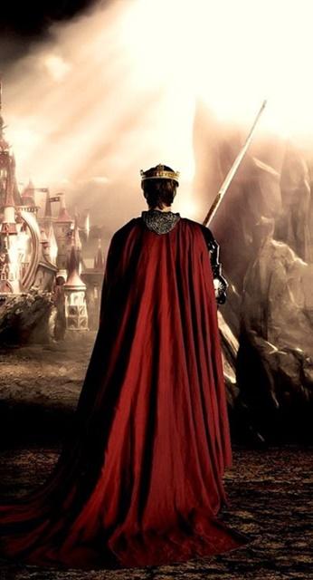 l'uomo re